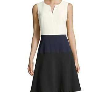 Karl Lagerfeld Paris  Colourblock Fit and Flare
